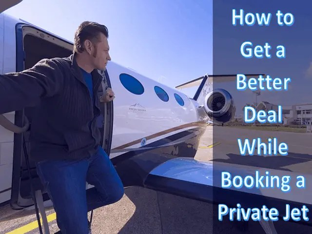 How to Get a Better Deal While Booking a Private Jet 5