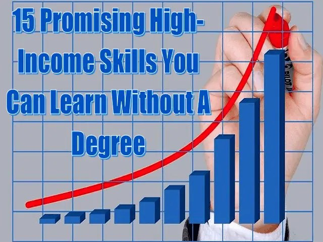 15 Promising High-Income Skills You Can Learn Without A Degree