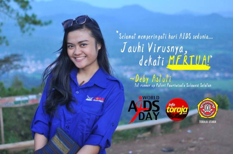 Deby Astuti, Runner Up 1 Puteri Pariwisata Sulawesi Selatan