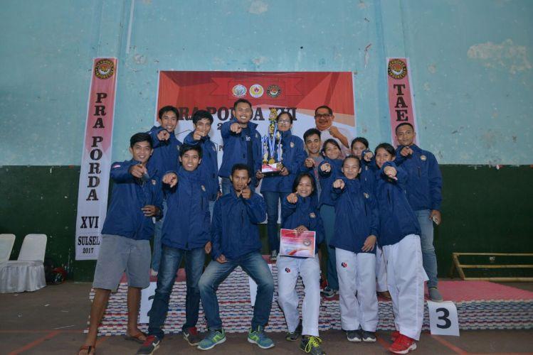 atlit taekwondo toraja juara