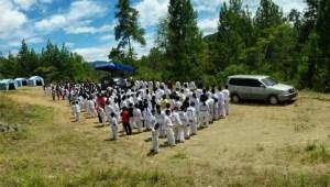 Pengkaderan Taekwondo Tana Toraja yang anti Narkotika.