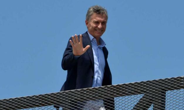 Llega Mauricio Macri a Mendoza