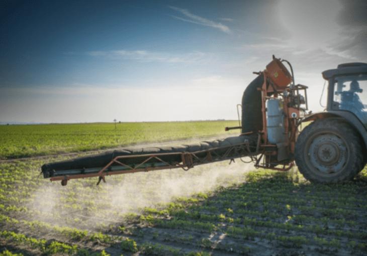 Mais de 90% da soja, algodão e milho são pulverizados com glifosato nos EUA. 544.000 toneladas por ano nos EUA.