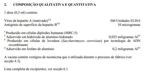 Twinrix Pediátrico (hepatite A (inativada) e hepatite B (ADNr) (HAB))