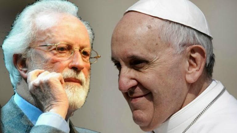 Scalfari, comunista anticristiano, vuelve a entrevistar al Papa. Sólo hablan del clima