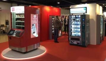 MOVE, торговый автомат нового поколения, на стенде UNICUM. VendExpo 2015