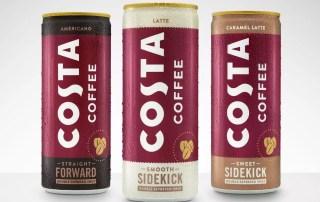 Costa Coffee от Coca-Cola в России в 2020 году