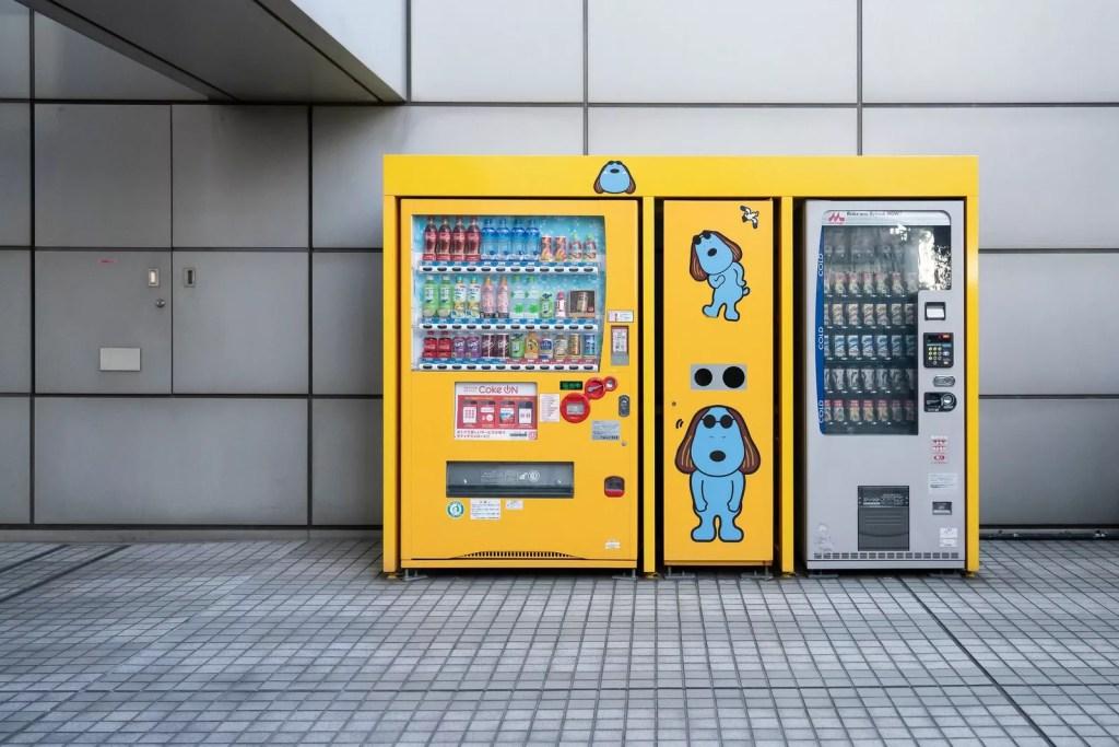 Японские торговые автоматы не похожи ни на какие другие в мире