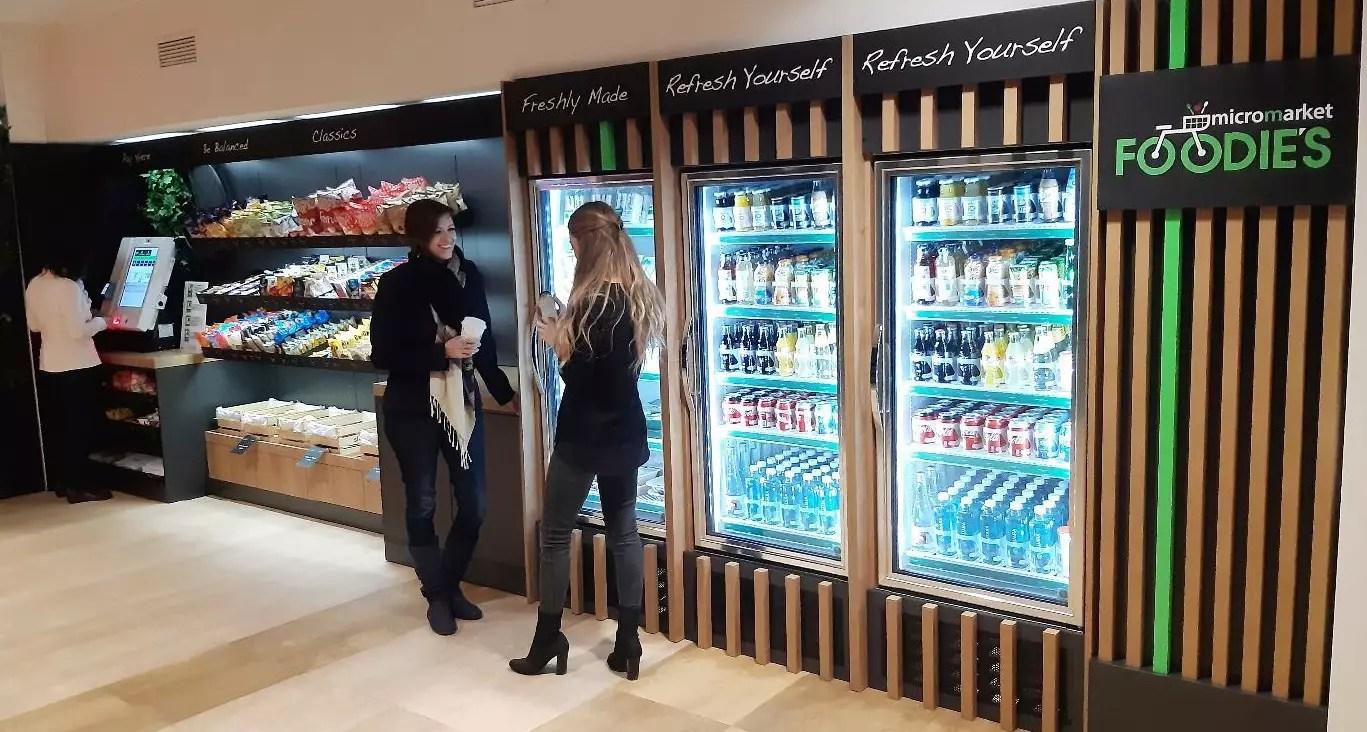 Selecta представляет в Европе концепцию MicroMarkets FOODIE'S