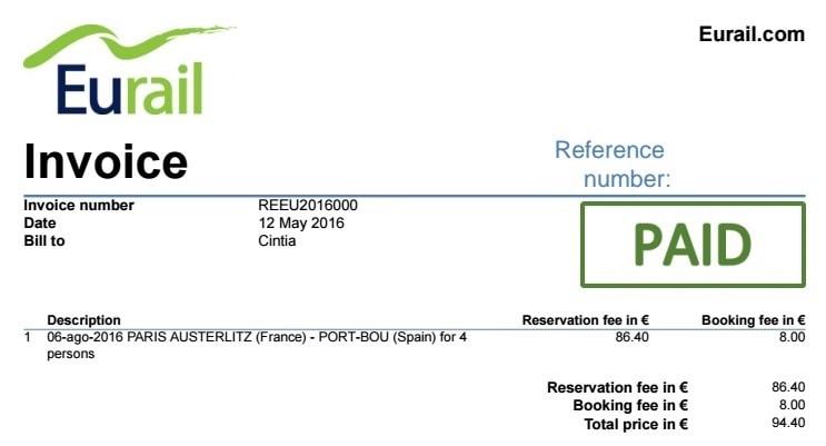 Eurail_Pase_Servicio_Reservas_Factura_Confirmacion