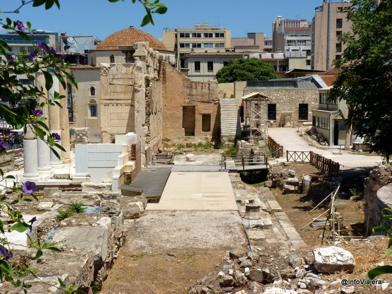 Biblioteca_Adriano_Atenas_Grecia