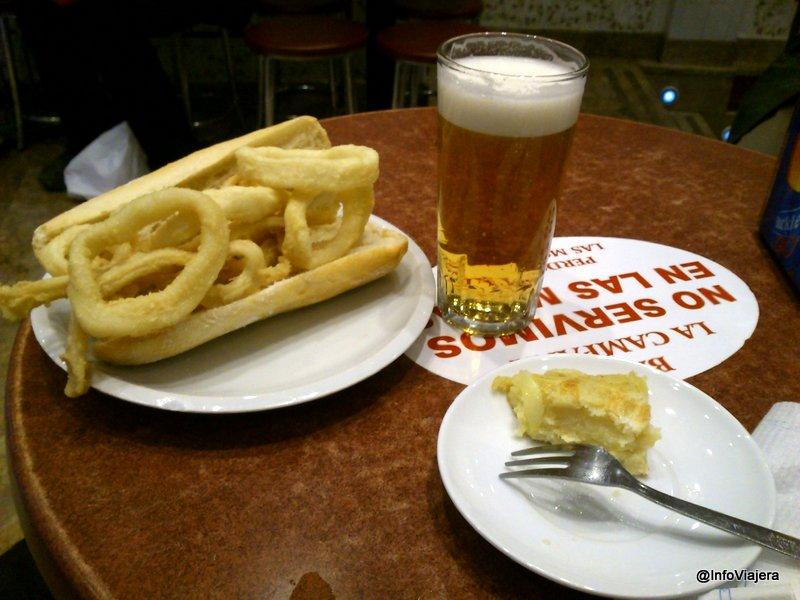 tapas_espana_calamares_tortilla_cana_cerveza