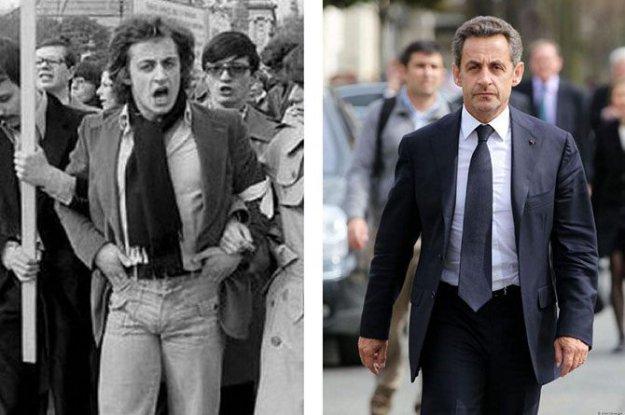 Николя Саркози. Политики в молодости: вот как они выглядели (фото)