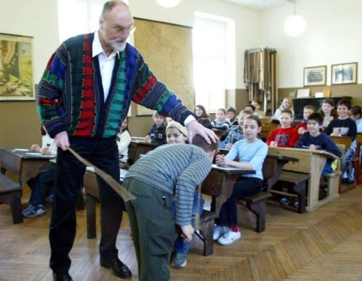 наказания в школах