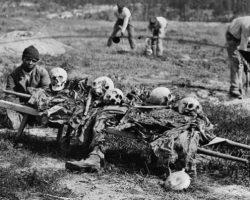 Ужасные фотографии жертв самой кровопролитной войны в истории США