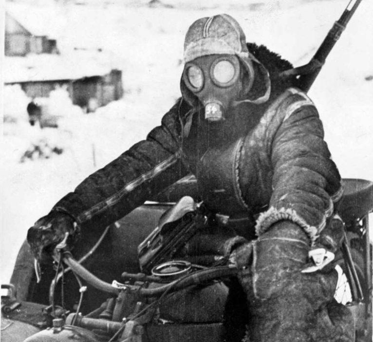 Химическое оружие на Второй Мировой