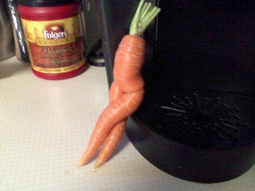 Морковка тоже может быть соблазнительной