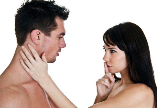 Сексуальные жесты мужчин и женщин