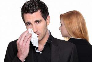 Как мужчины переживают развод с женой