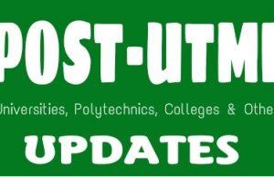 University Post UTME Past Questions