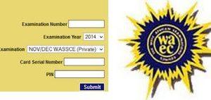 WAEC NOV/DEC Registration