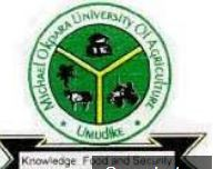 MOUAU Post UTME Admission Screening Form 2018