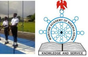 Maritime Academy Oron Past Questions and Answers