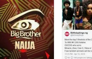 Big Brother Naija Application 2019