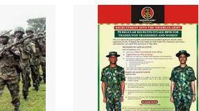 Nigerian Army Recruitment Closing Dates