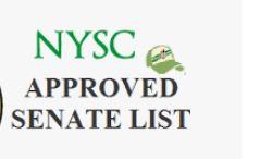 NYSC Senate List Batch A 2019