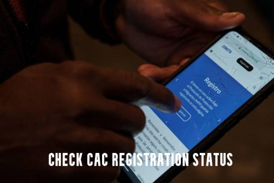 Check CAC Registration Status