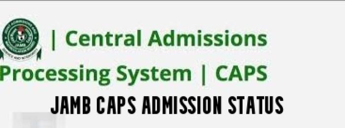JAMB CAPS Admission Status