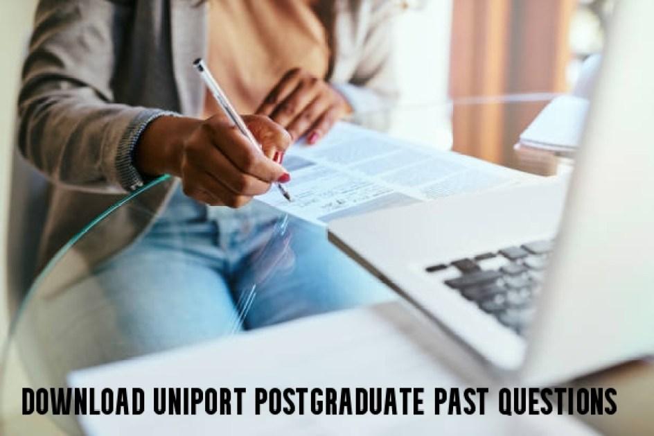 Download UNIPORT Postgraduate Past Questions