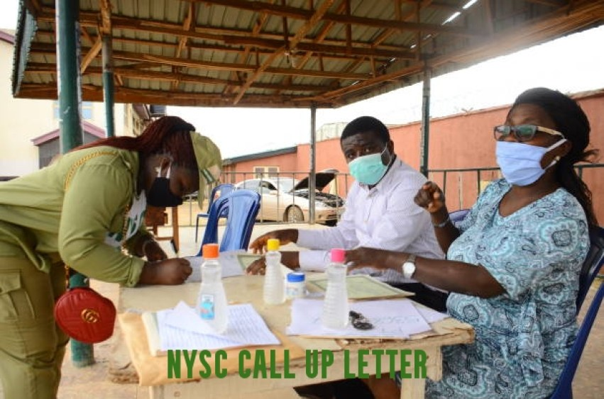 Print NYSC Call up Letter