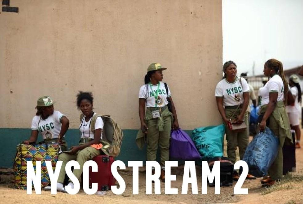 NYSC Stream 2 Registration Date