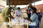 Print NYSC Green Card 2021 Batch A Stream 1