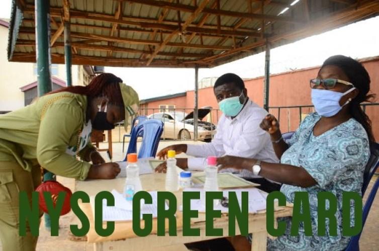 NYSC Green Card Printing
