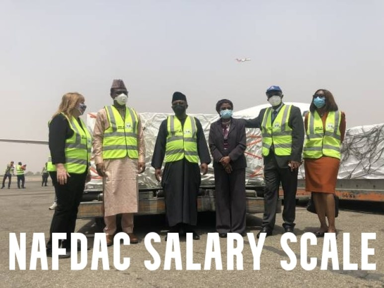 NAFDAC Salary Scale and Structure 2021