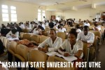 Nasarawa State University Post UTME Past Questions