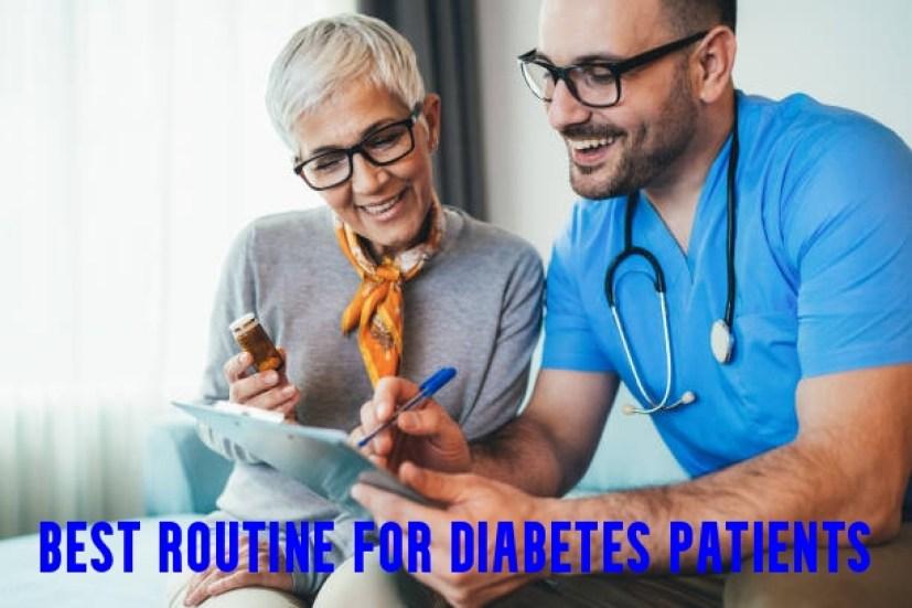 Best Routine for Diabetes Patients