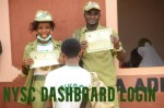 NYSC Dashboard Login Process Batch A 2021