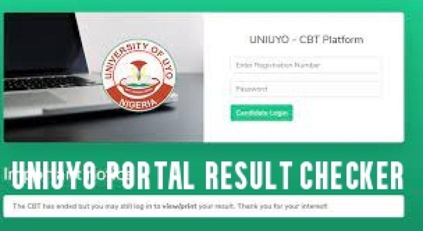 UNIUYO Portal Result Checker