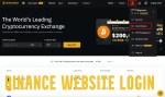 Binance Website Login – Login to Binance Wallet