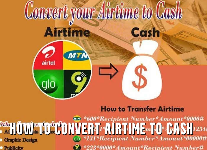 How to Convert Airtime to Cash
