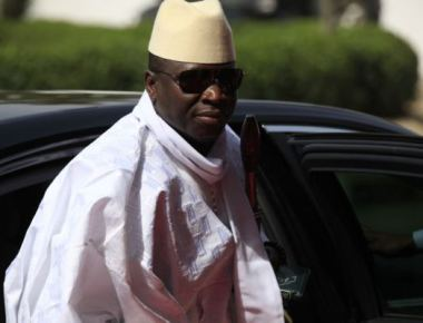 Le président gambien President Yahya Jammeh