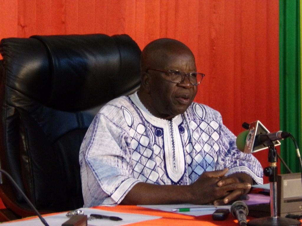 MATDSI: Le ministre Simon Compaoré fait le bilan d'une année de gestion à la tête du ministère