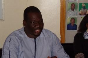 Célestin Compaoré coordonnateur de l'Association SOS jeunesse et défis