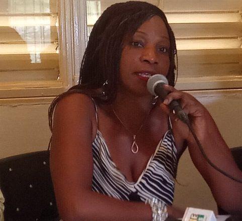 Maï Lingani, présidente de l'association des musiciennes du Burkina