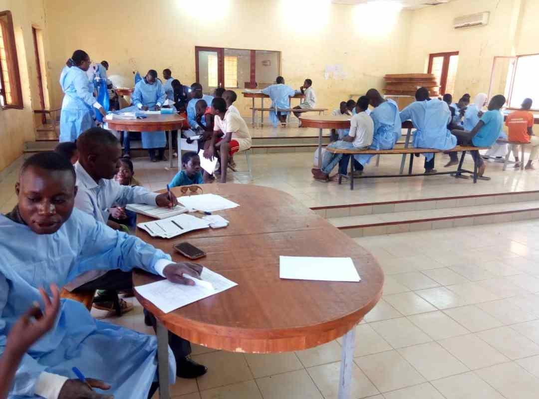 Ministère de la femme : Une visite médicale au profit des enfants retirés de la rue
