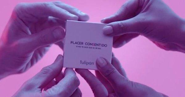 Santé : une marque argentine créé un «préservatif à consentement»